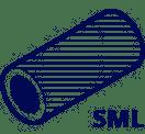 Трубы чугунные безраструбные SML и соединительные детали